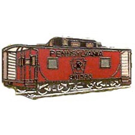 "Pennsylvania Caboose Railroad Pin 1"""
