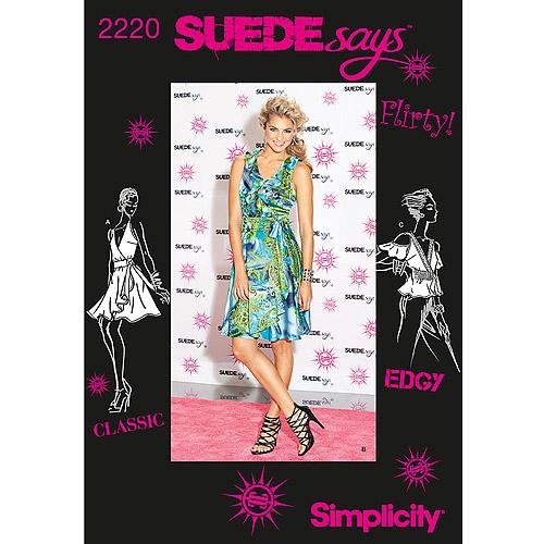 SIMPLICITY MISSES DRESSES-4-6-8-10-12, Pk 1, Simplicity Patterns