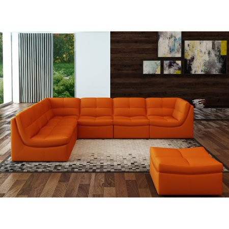 J&M Furniture Lego 7 Piece Sectional Sofa Set