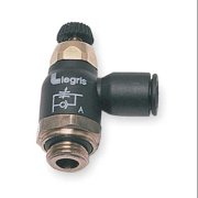 LEGRIS 7065 10 21 Compact Flow Control, 10mm Tube, 1/2 In