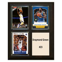 C&I Collectables NBA 8x10 Draymond Green Golden State Warriors 3-Card Plaque