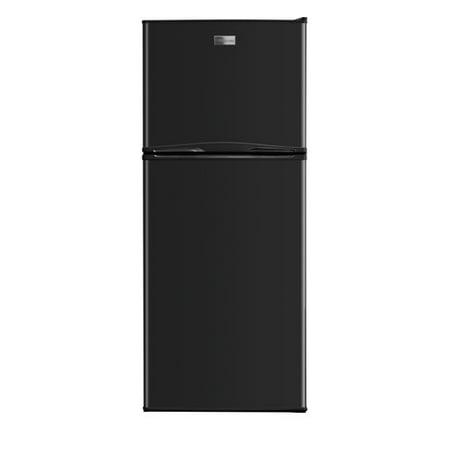 Frigidaire FFTR1022Q 24in Wide 10.0 Cu. Ft. Top Freezer Apartment Size  Refrigerator with Store-More Door Bins