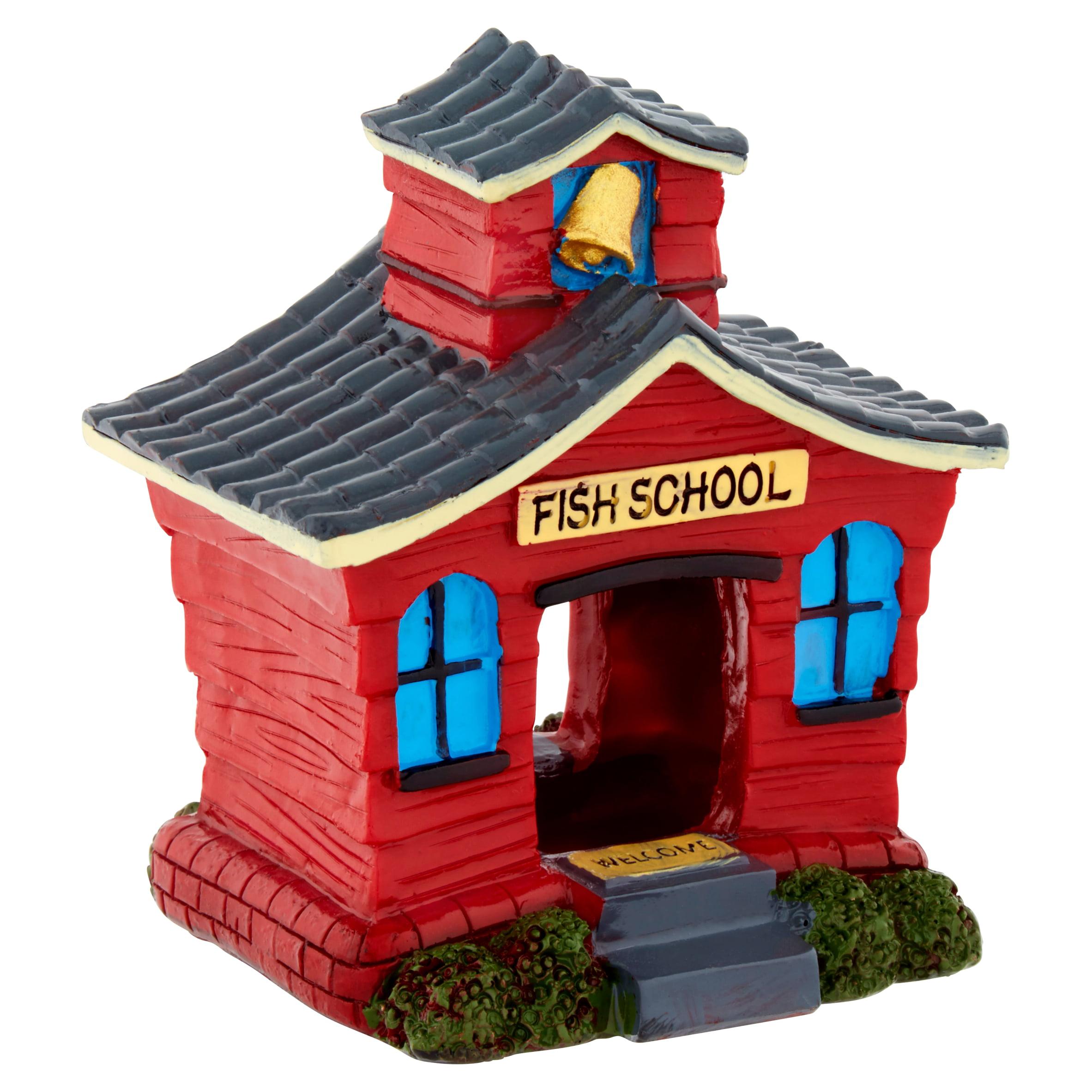 Aqua Culture Red Fish School Aquarium Ornament by Wal-Mart Stores, Inc.