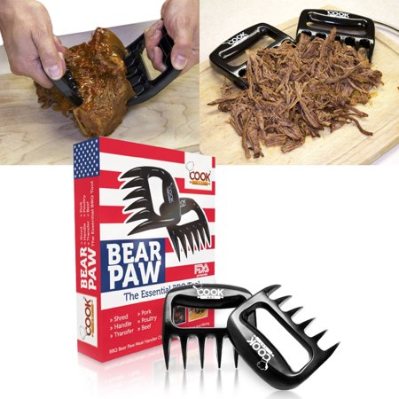 Bear Carving - CookArt BBQ Meat Claws Shredder Pork  Bear Claw Tool Carving Fork Meat Handing