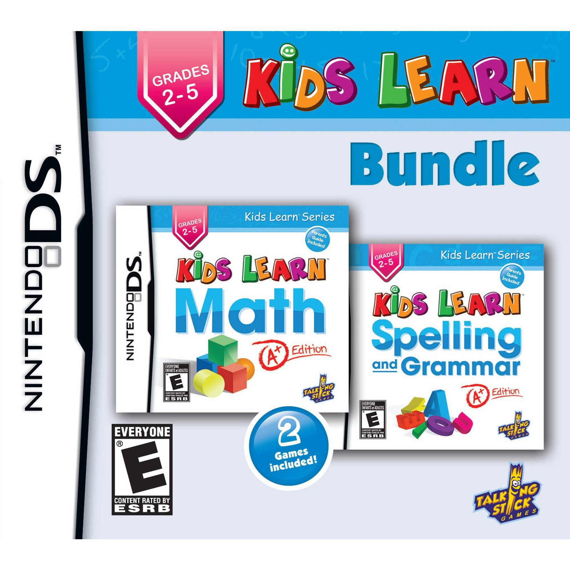 Kid Learn Math A+ / Kids Learn Spelling and Grammar A+ Bu...