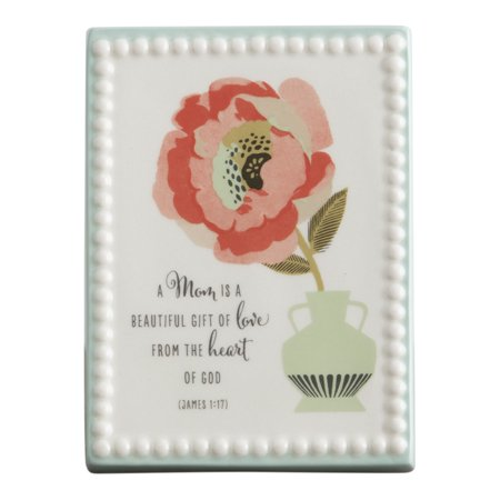 - DaySpring  -  Beautiful Gift of Love - Ceramic Plaque for Mom