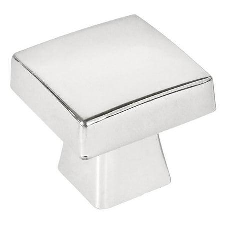 - Cosmas 5233CH Polished Chrome Contemporary Square Cabinet Knob