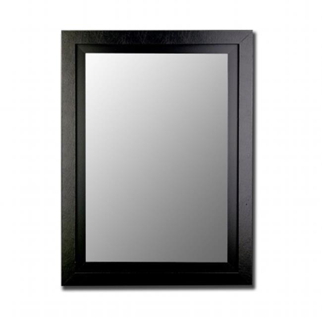 2nd Look Mirrors 258003 40x50 Black - Black Mirror