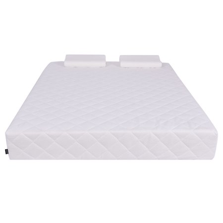 Queen Size 10 Quot Memory Foam Mattress Pad Bed Topper W 2