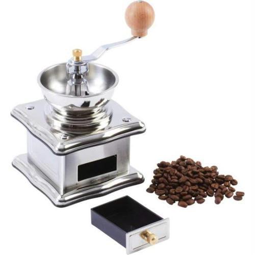 Wyndham KTGRIND House Stainless Steel Adjustable Manual Coffee Grinder
