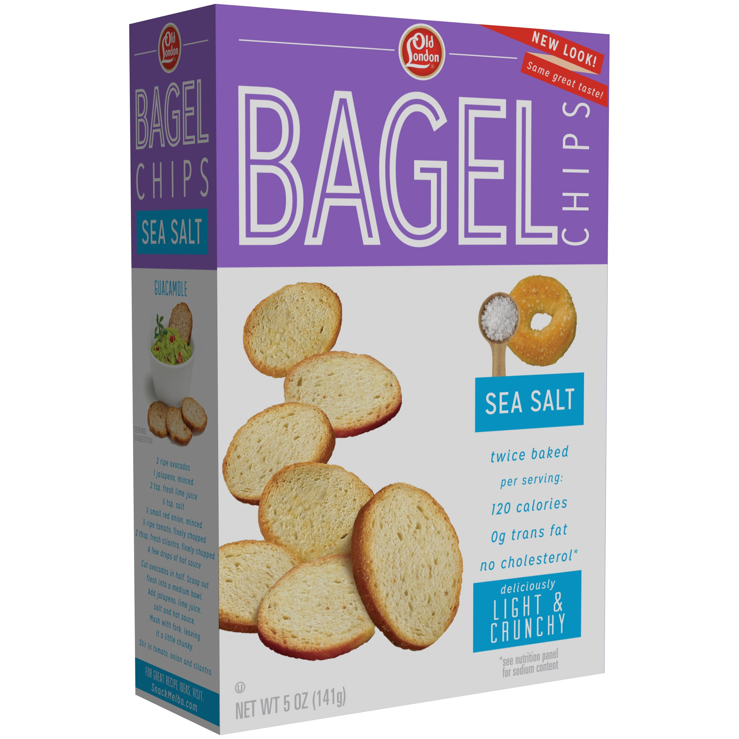 Bagel Chip Sea Salt