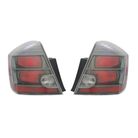 NEW TAIL LIGHT PAIR FITS NISSAN SENTRA SE-R SPEC V SR 2010 2011 2012 (R34 Gtr V Spec 2 For Sale)