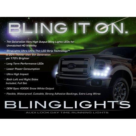 Ford F 350 Super Duty Led Drl Strip Lights For Headlamps Headlights F350 Superduty Head Lamps Drls