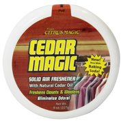 Citrus Magic - Solid Air Freshener Cedar Magic - 8 oz.