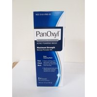 Panoxyl Foaming Acne Wash 10% Benzoyl Peroxide, 5.5 Oz