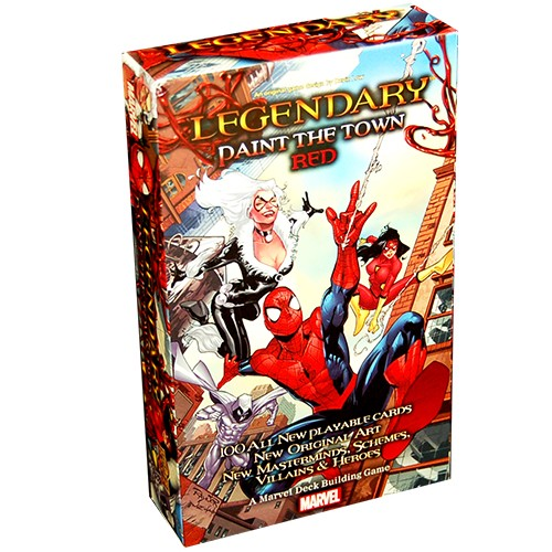 Legendary: A Marvel Deck Building Game - Paint The Town Red Expansion