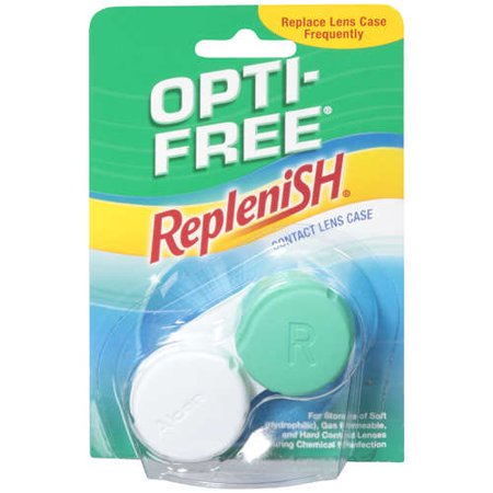 Alcon Opti Free  Contact Lens Case, 1 ea (Maleficent Contact Lenses)
