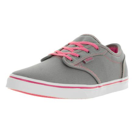 tehtaanmyymälä Julkaisupäivä: monia muodikkaita Vans Kids Atwood Low (Canvas) Grey/Pink Lemonade Casual Shoe 1.5 Kids US
