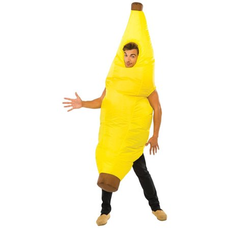 Inflatable Banana Adult Halloween Costume, 1 Size - Banana Costume For Kids