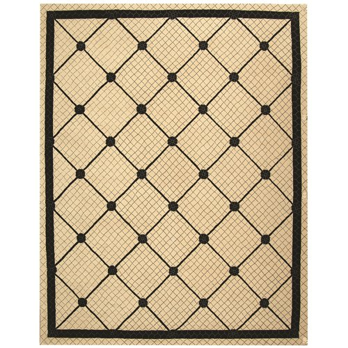 Safavieh Newport Ivory/Black Geometric Area Rug