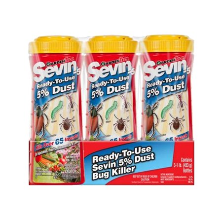 GardenTech Sevin 5% Dust Shaker Bottle, (Sevin 5% Dust)