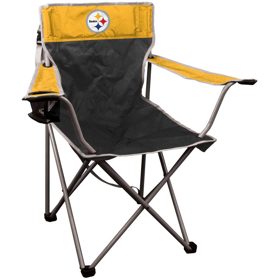 Pittsburgh Steelers KickOff Chair   Folding Tailgate   Camping