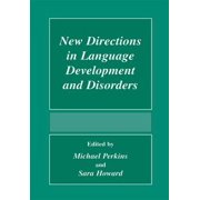 New Directions In Language Development And Disorders - eBook