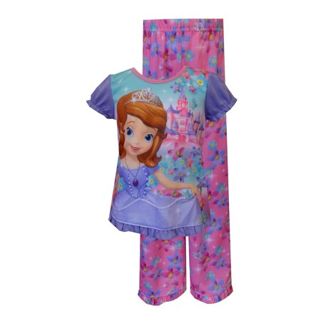 Disney Sofia The First Castles and Crowns Toddler Pajama