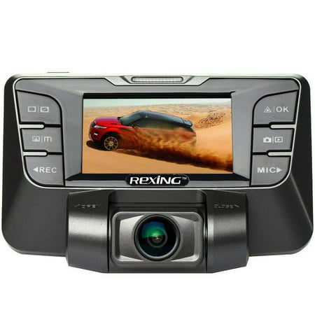 REXING S300 Dash Cam Pro 1080P 170° Wide Angle Super Night Vision Mode, Stealth Design for Cars (16GB MicroSD Card Included)