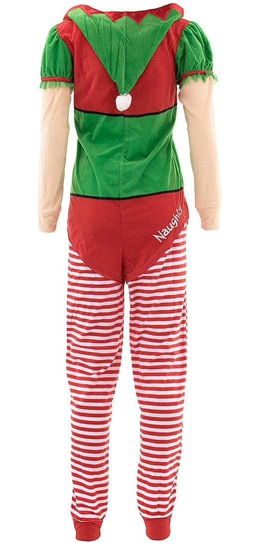 8d40decce Briefly Stated - Christmas Elf Onesie Hooded Skirted Women s Union ...