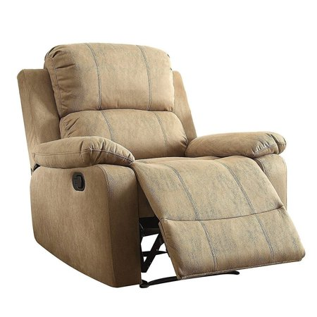 Q-Max  Bina Brown Memory Foam Pillow Top Reclining Arm Chair ()