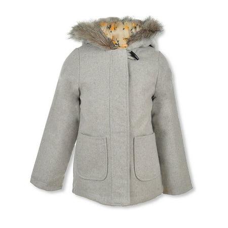 Appaman Coat Sale (Jessica Simpson Girls' Wool-Look Hooded)