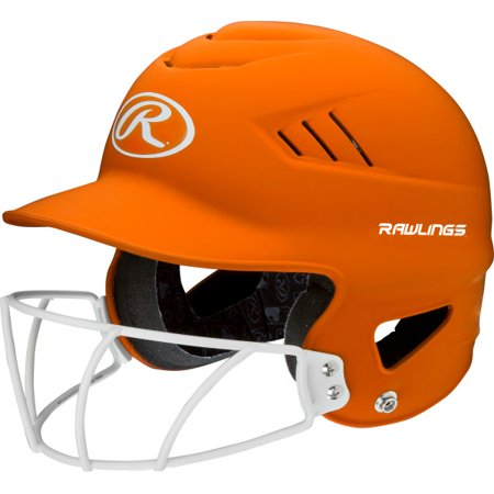 Rawllings Coolflo Highlighter Series Matte Style Softball Batting Helmet Cfbh Coolflo Batting Helmet