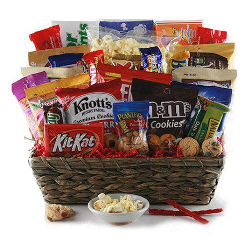 The Grand Snacker Gift Basket - Walmart.com