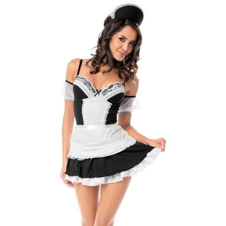 Plus Size Sexy Head Maid Costume for $<!---->