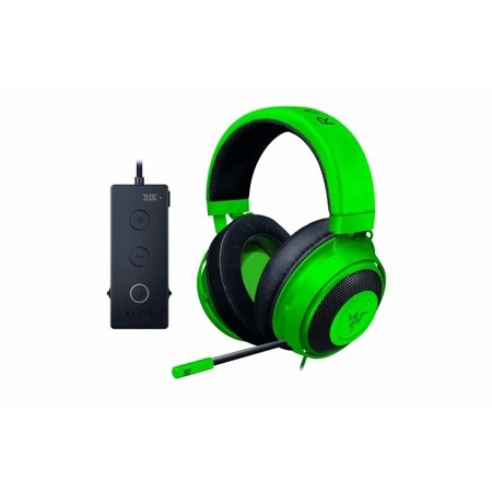 Razer Kraken Tournament Edition: THX Spatial Audio - Full Audio Control - Cooling Gel-Infused Ear Cushions - Gaming Headset Works with PC, PS4, Xbox One, Switch, Mobile Devices -