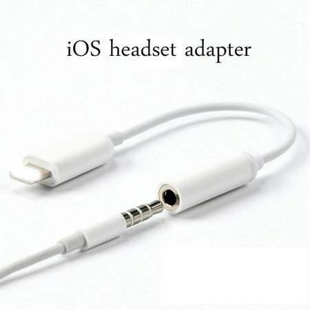 Apple Lightning to 3.5 mm Jack Headphone Adapter Aux Cable Play and Plug,Compatible with iPhone X/Xs/Xs Max/XR 7/8/8Plus iOS 10/11/12 (Sony X Headphone Cable)