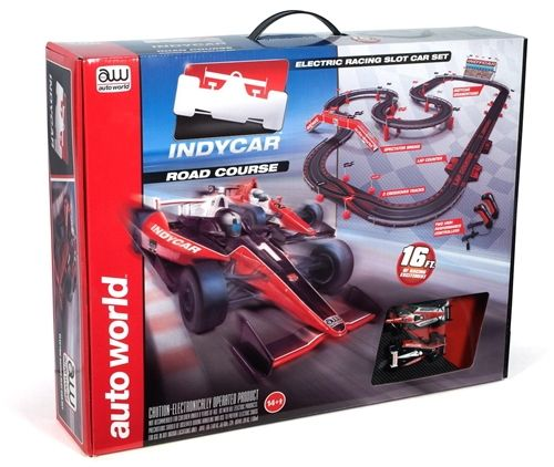 Indy Car Road Course Slot Car Race Track Ho Scale