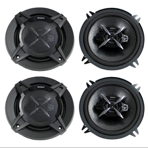"4)  Sony XS-FB1330 5.25"" 480 Watt 3-Way Car Audio Speakers Stereo XSFB1330"