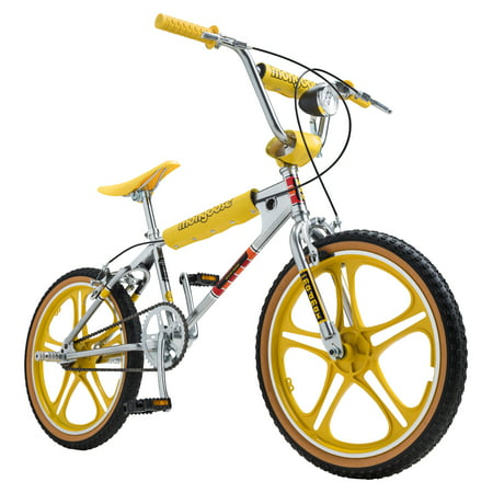 Netflix Stranger Things: Max BMX-style Bike, 20 in wheel, Chrome / Yellow
