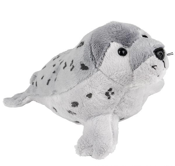 """9"""" SPOTTED SEAL POUNCE PAL, Case of 24"""