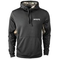 New England Patriots Ranger Realtree Pullover Hoodie - Black/Camo