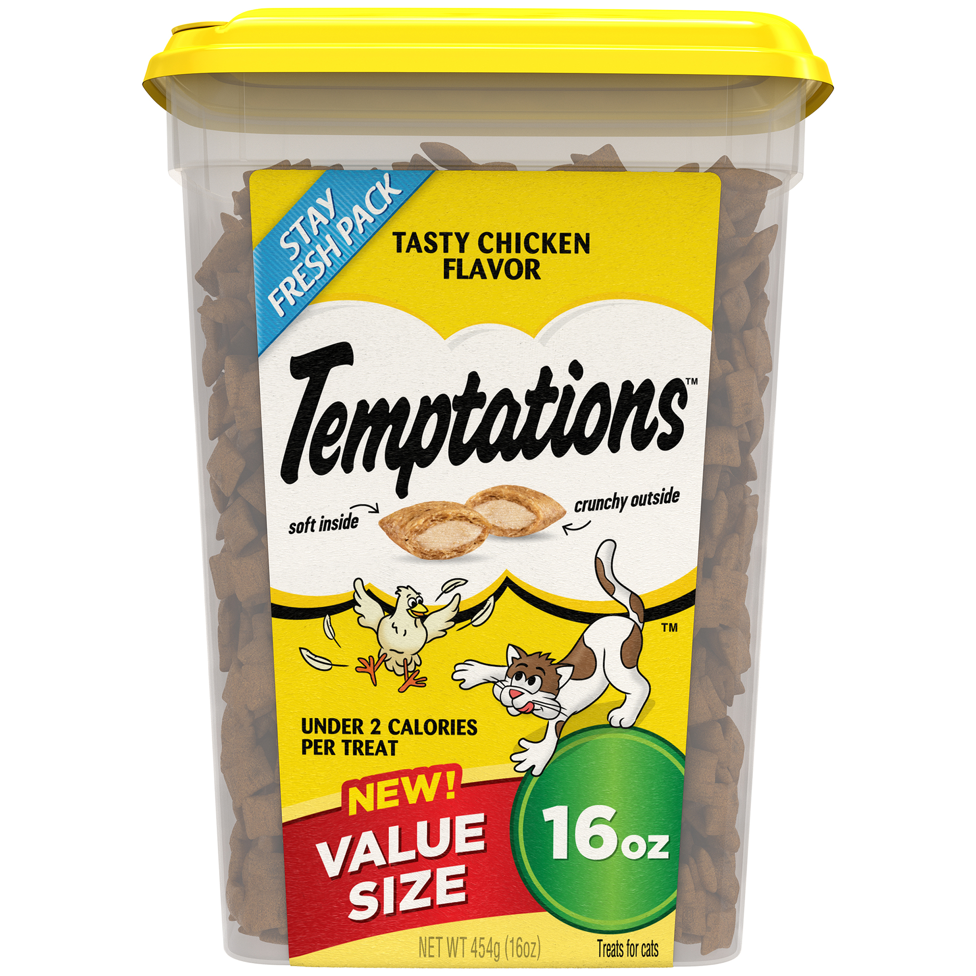 Temptations Classic Tasty Chicken Flavor Cat Treats, 16 Oz