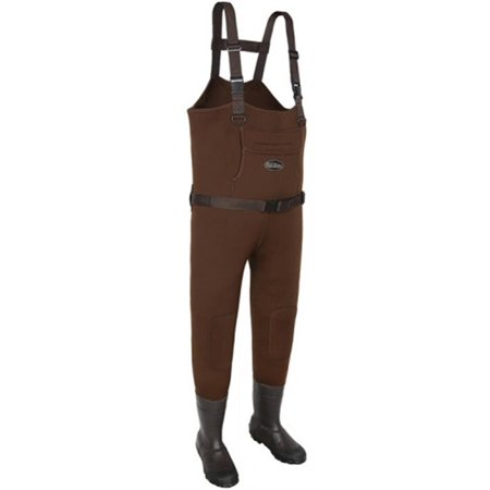Allen 12852 Chesapeake Neoprene Bootfoot Chest Wader Brown Size 12