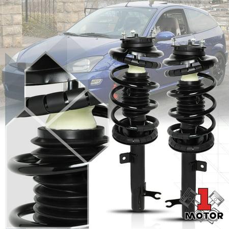 Front L+R Strut Assembly Shock Absorber Suspension Spring for 00-05 Ford Focus 01 02 03 04