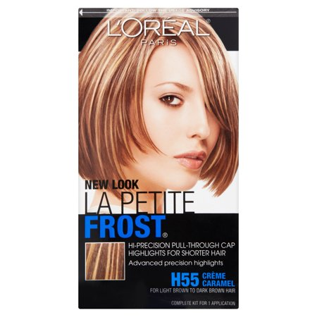 L'Oreal Paris Le Petite Frost Cap Hair Highlights For Shorter Hair - Bald Cap With Hair On Sides
