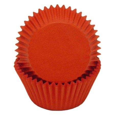 Red Glassine Cupcake Baking Liners - 50 Count - National Cake