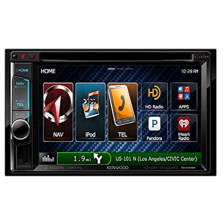 Kenwood eXcelon DNX692 6.2 Inch Touchscreen Navigation