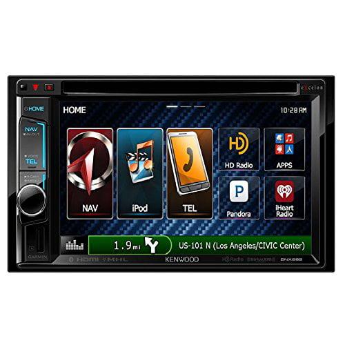Kenwood eXcelon DNX692 6.2 Inch Touchscreen Navigation Receiver
