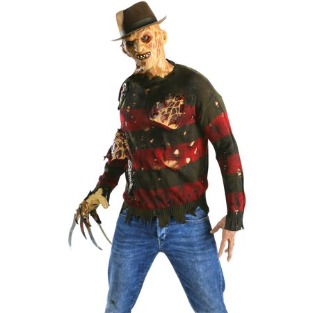 Freddy Krueger Sweater with Flesh Men's Adult Halloween - Freddy Krueger Accessories